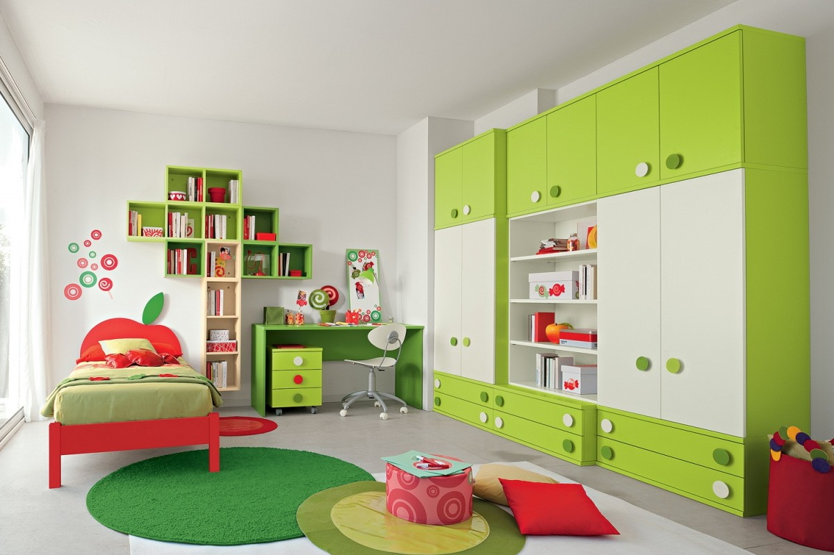 chambre pour enfant quel mobilier de rangement installer. Black Bedroom Furniture Sets. Home Design Ideas