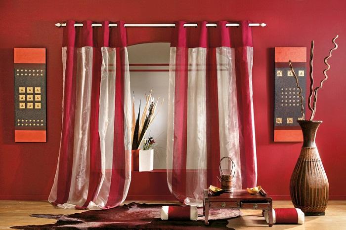 Choisir les rideaux les conseils des conseils pour la d coration maison - Maison coloree rideaux ...